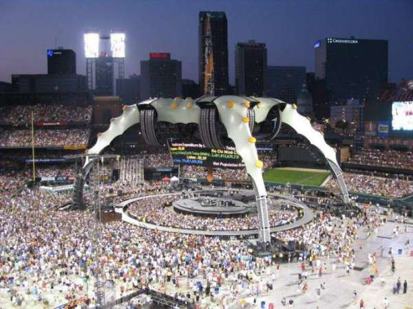 Busch Stadium, section: 341, row: 3, seat: 5
