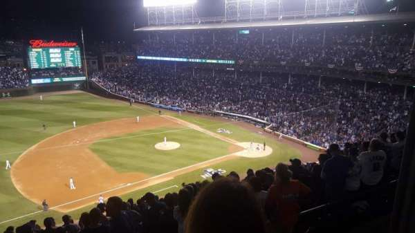 Wrigley Field, section: 409L, row: 2, seat: 20