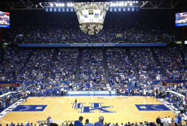 Rupp Arena, section: 14, row: X, seat: 6