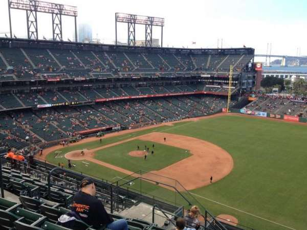Oracle Park, section: VR302, row: 7, seat: 7