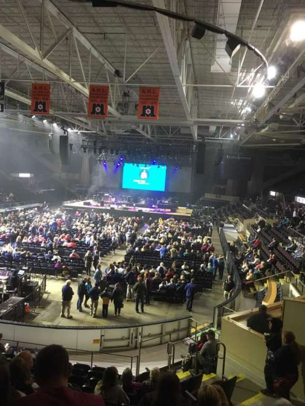 Cross Insurance Arena, section: M, row: 15, seat: 8
