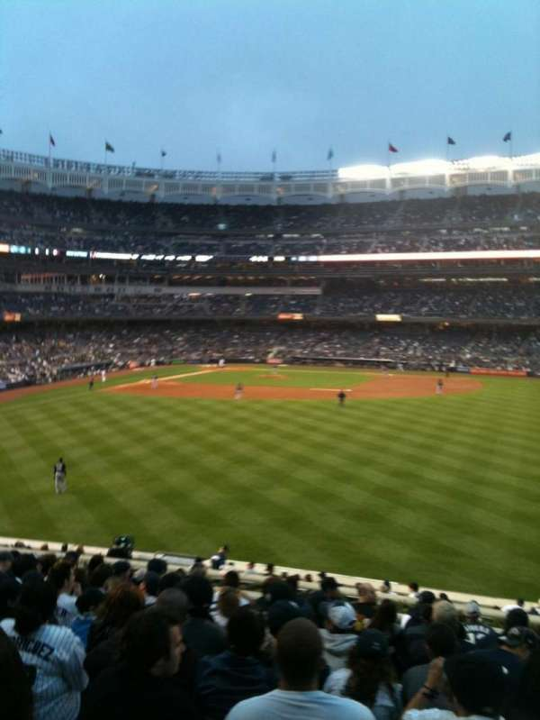 Yankee Stadium, section: 203, row: 13, seat: 8