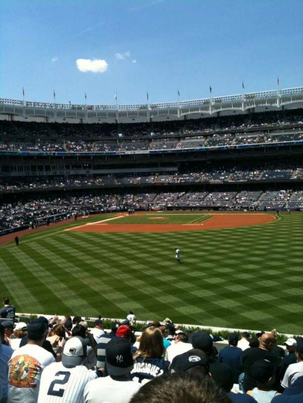 Yankee Stadium, section: 203, row: 16, seat: 10