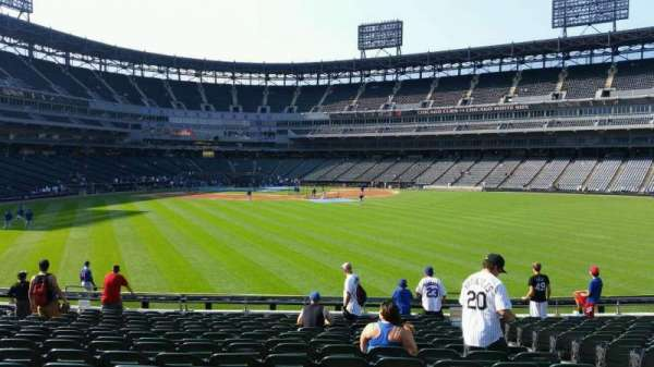 Guaranteed Rate Field, section: 102, row: 16, seat: 5