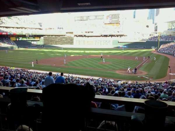 Target Field, section: 117, row: WC, seat: 7