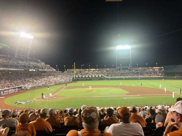 TD Ameritrade Park, section: 108, row: 28, seat: 16