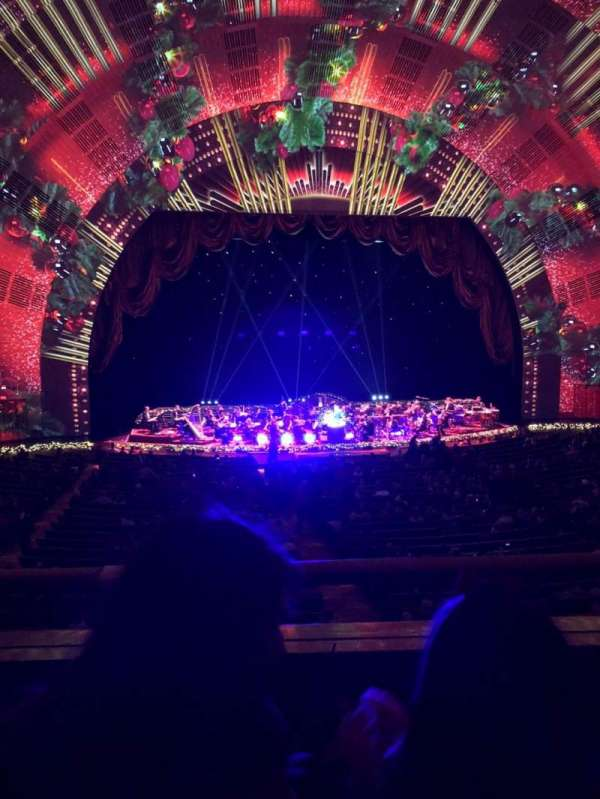 Radio City Music Hall, section: 1st mezzanine 5, row: B, seat: 507
