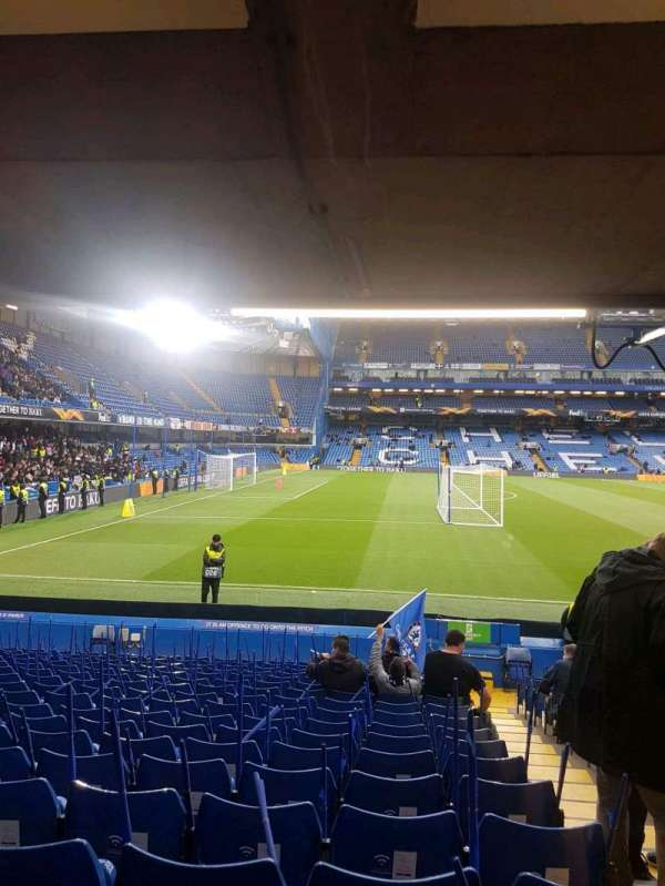 Stamford Bridge, section: east lower south family, row: u, seat: 0025