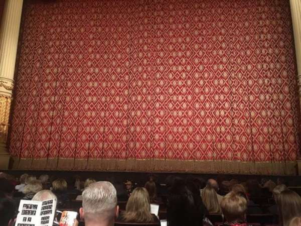 Academy of Music, section: Parquet Center, row: E, seat: 106