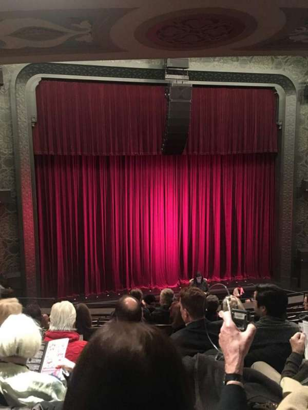 Mainstage at the New York City Center, section: Mezz, row: E, seat: 103