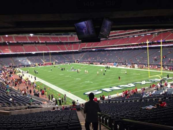 NRG Stadium, section: 139, row: JJ, seat: 1