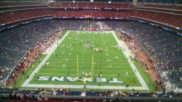 NRG Stadium, section: 647, row: A, seat: 19