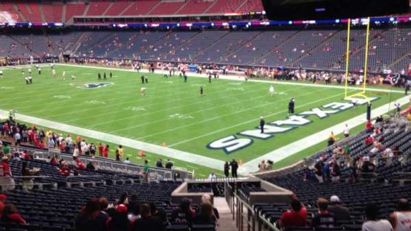 NRG Stadium, section: 121, row: JJ, seat: 1