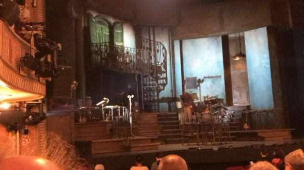 Walter Kerr Theatre, section: Orchestra L, row: P, seat: 19