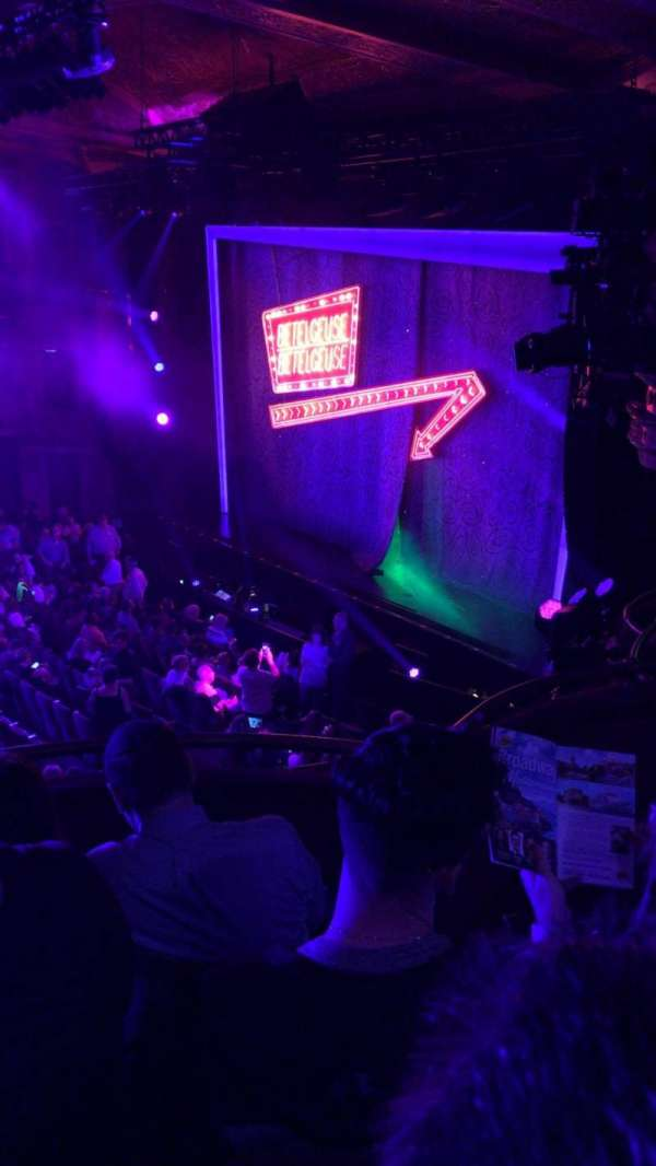 Winter Garden Theatre, section: Mezzanine R, row: D, seat: 40