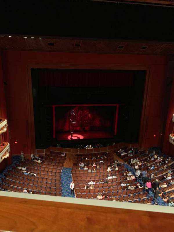 Au-Rene Theatre at the Broward Center, section: Balcony LC, row: A, seat: 119