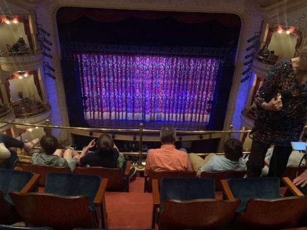 Grand 1894 Opera House, section: Balc Center, row: DDD, seat: 8