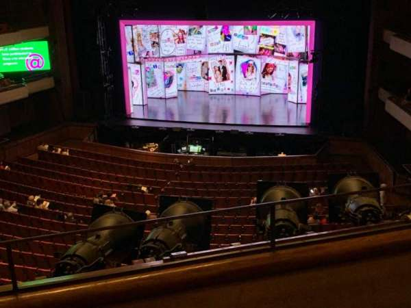 Jaeb Theater at The Straz, section: Balcony 4, row: B, seat: 139