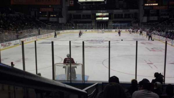 Blue Cross Arena, section: 116, row: L, seat: 9