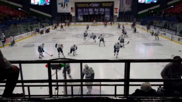 Adirondack Bank Center, section: 210, row: A, seat: 6