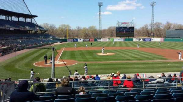 Nbt Bank Stadium Section 205 Home Of Syracuse Chiefs