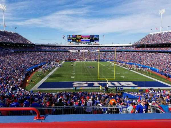 New Era Field, section: 223, row: 3, seat: 21