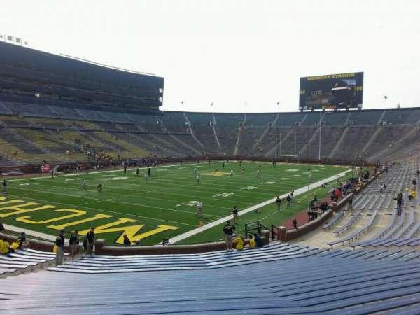 Michigan Stadium, section: 30, row: 30, seat: 10