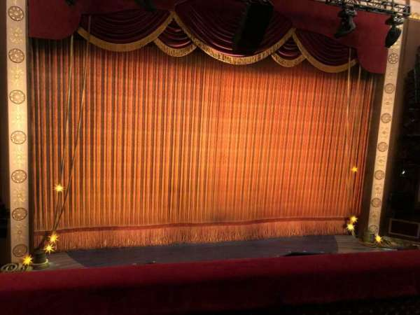 Imperial Theatre, section: Front Mezzanine 3, row: B, seat: 8