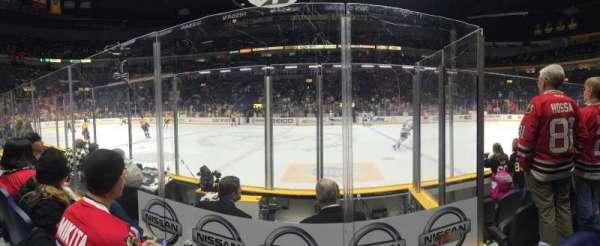 Bridgestone Arena, section: 106, row: DD, seat: 15