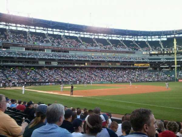 Guaranteed Rate Field, section: 117, row: 10, seat: 6