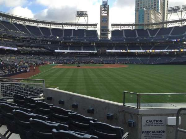 PETCO Park, section: 129, row: 4, seat: 9