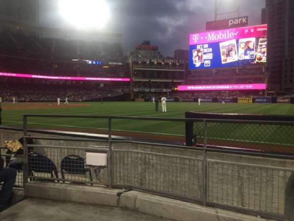 PETCO Park, section: 119, row: 7, seat: 1