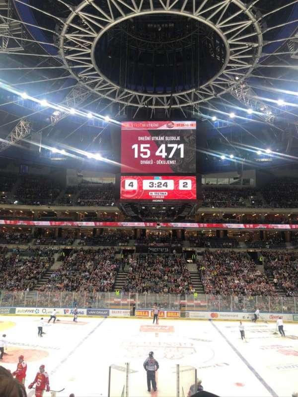 O2 Arena (Prague), section: 112, row: 15, seat: 11