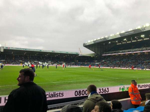 Elland Road, section: FA6, row: F, seat: 139