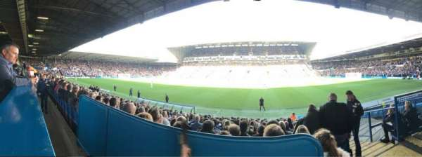 Elland Road, section: West Stand Hospitality, row: A, seat: 123