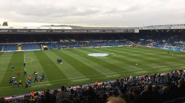 Elland Road, section: L34, row: U, seat: 157