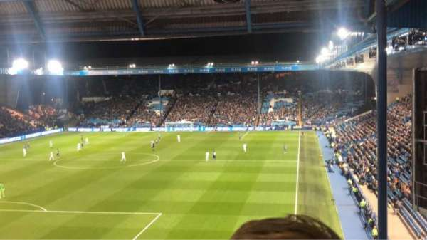 Hillsborough Stadium, section: WU7, row: 22, seat: 144
