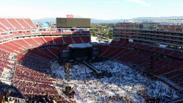 Levi's Stadium, section: 402, row: 19, seat: 9
