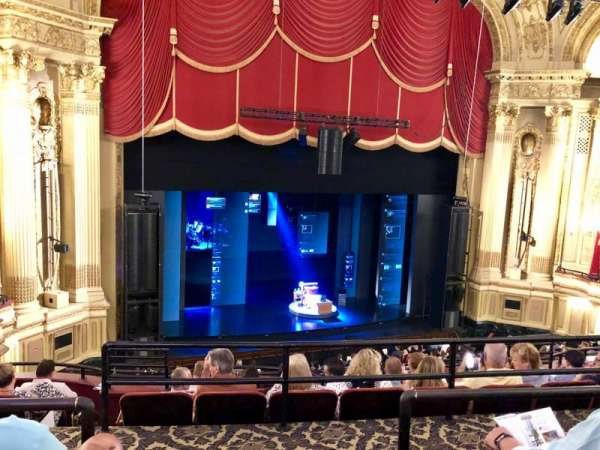 Citizens Bank Opera House, section: Mezzanine L, row: C, seat: 1