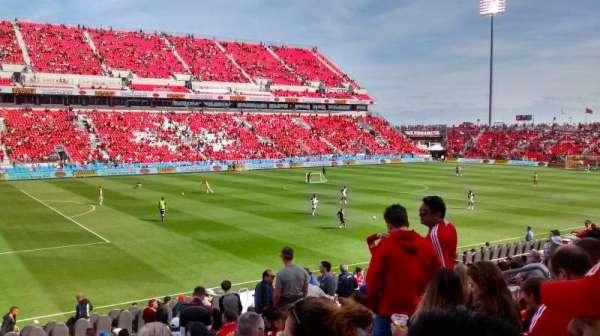 BMO Field, section: 126, row: 12, seat: 14