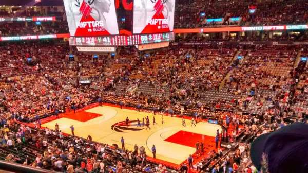 Scotiabank Arena, section: 319, row: 2, seat: 3