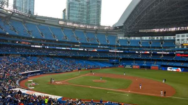 Rogers Centre, section: 218R, row: 2 , seat: 10