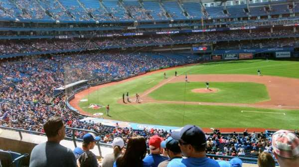Rogers Centre, section: 219R, row: 5, seat: 6