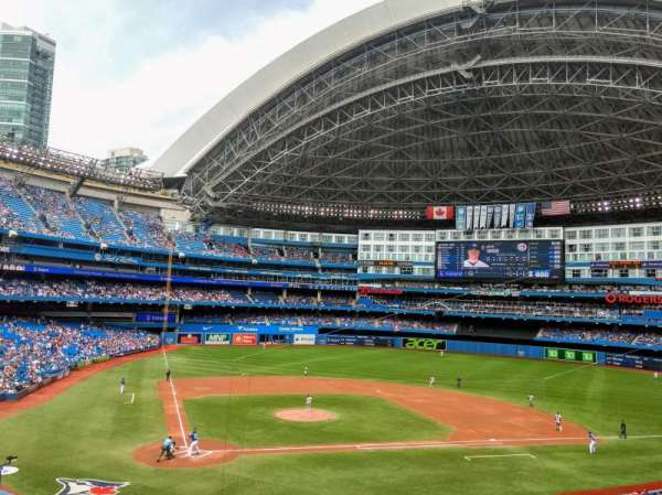 Rogers Centre, section: 222R, row: 3, seat: 6