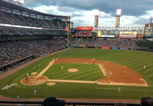Guaranteed Rate Field, section: 326, row: 3, seat: 10