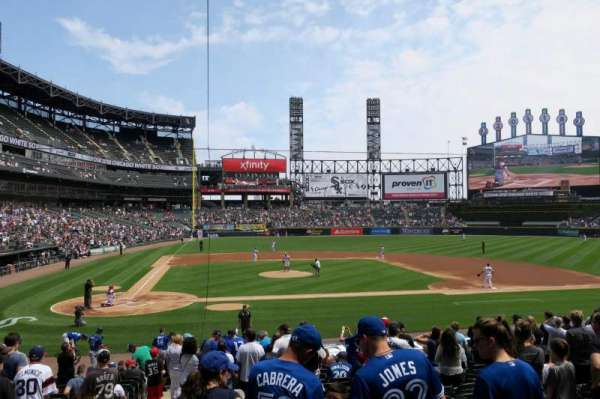 Guaranteed Rate Field, section: 127, row: 23, seat: 10