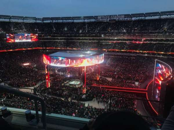 MetLife Stadium, section: 310, row: 3, seat: 26
