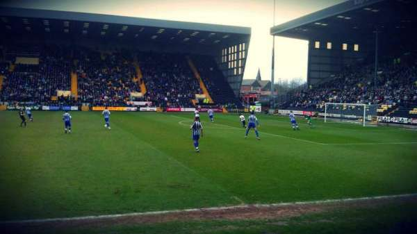 Meadow Lane, section: X3, row: E, seat: 70