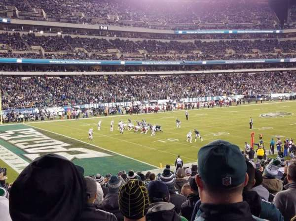 Lincoln Financial Field, section: 134, row: 25, seat: 13