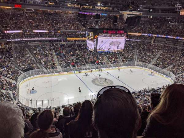 T-Mobile Arena, section: 202, row: M, seat: 15